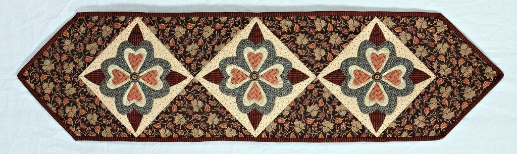 Antique Applique Table Runner